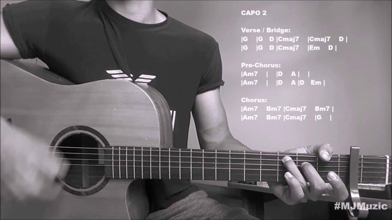 Let Me Zayn Malik Guitar Chords Tutorial Mj The Glog