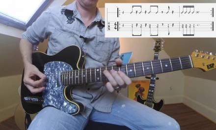 Layering Funk Rhythm Guitar Lesson -Part 1