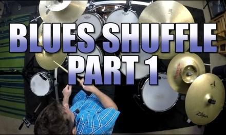 Drum Lessons – Blues Shuffle – Part 1