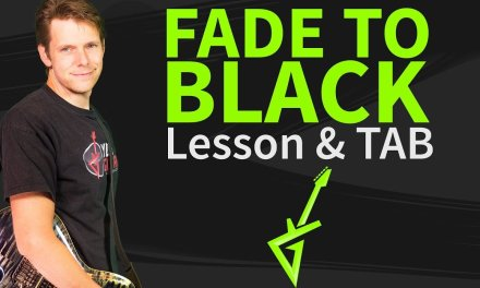 How To Play Fade To Black On Guitar Lesson & TAB #1 Intro – Metallica Tutorial