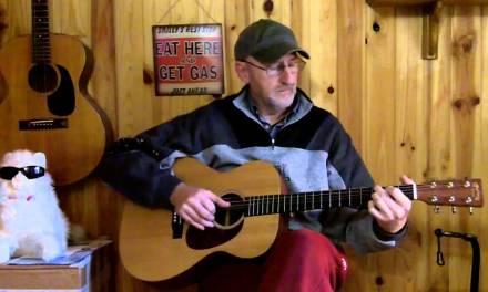 Jim Bruce Blues Guitar Lessons – A Version of Guitar Rag (Merle Travis, Chet Atkins)