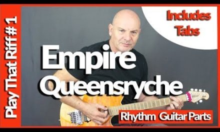 Empire By Queensryche Guitar Lesson Tutorial