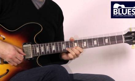 Blues Guitar Lesson – Freddie King Style Solo