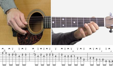 Stock Bluegrass Flatpicking Lick in E – Guitar Lesson Tutorial