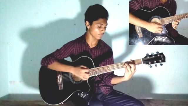 Deho Ghori Cover Mon Amar Deho Ghori Shondhan Kori Guitar Cover