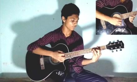 Deho ghori cover   Mon amar deho ghori shondhan kori guitar cover   Guitar chords   Porichoy