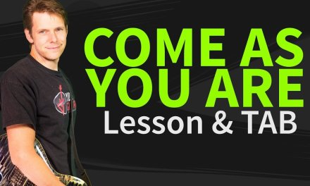 How To Play Come As You Are On Guitar Lesson & TAB- Nirvana Tutorial