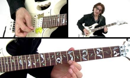 Steve Vai Guitar Lesson – Bending Notes – Alien Guitar Secrets: Passion & Warfare