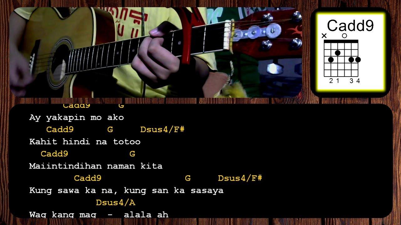 Oks Lang Ako By Jroa Acoustic Guitar Chords Tutorial The Glog