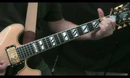 My Romance – Jazz Guitar Lesson 3