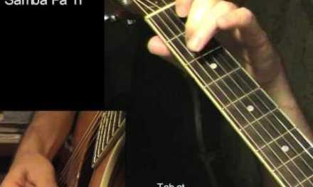 SAMBA PA TI: Acoustic Guitar Lesson + TAB by GuitarNick