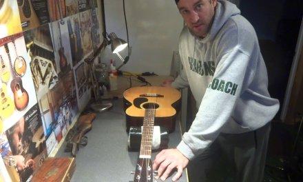 Mann Acoustic Guitar Repair and Restoration at Great Gray Guitars