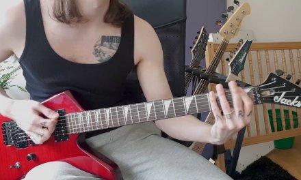 """""""All Hope Is Gone"""" Lesson From """"Slipknot HARDEST Songs On Rhythm Guitar"""""""