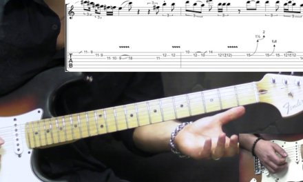 Jimi Hendrix – Red House (INTRO) – Blues Guitar Lesson (w/Tabs)