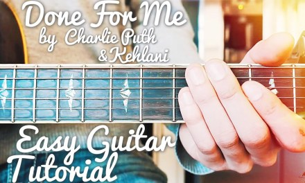Done For Me Charlie Puth Guitar Tutorial // Done For Me Guitar // Lesson #438