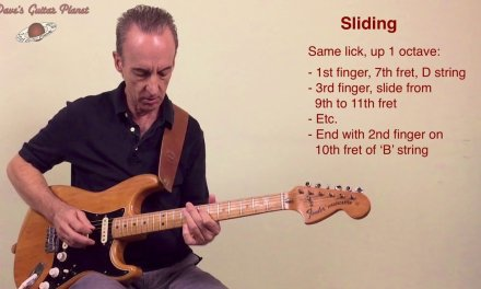 Practice Sliding With 12-Bar Country Blues Guitar Exercise