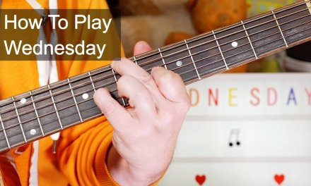 'Wednesday' Prince Acoustic Guitar Lesson