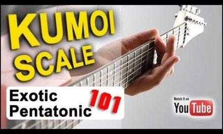 Exotic Pentatonic 101 [KUMOI SCALE]