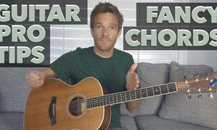 Guitar Pro Tip: Fancy Chords