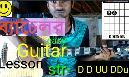 Bachelor-Easy Guitar Lesson..By-Mera Guitar Channel(Hindi/English)