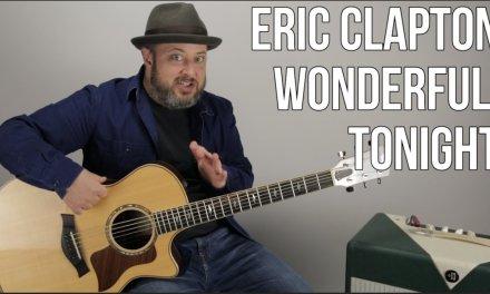 "Eric Clapton ""Wonderful Tonight"" Guitar Lesson (Easy Acoustic)"
