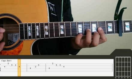Shanti Dope – Nadarang Guitar Tutorial [INTRO, CHORDS + TABS]