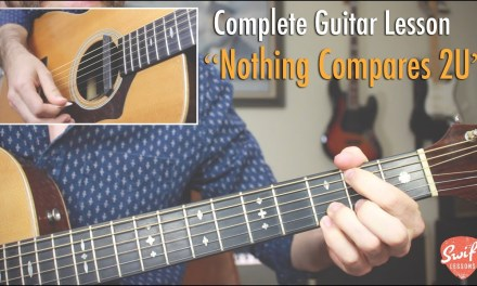 """Nothing Compares 2U"" Guitar Lesson  – Chris Cornell Version"