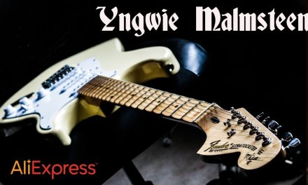 Aliexpress Yngwie Malmsteen Strat review