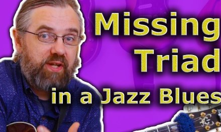 The Missing Triad in your Jazz Blues Chords – Simple and Easy
