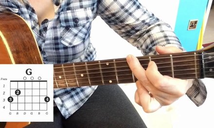How to play a G chord guitar lesson for beginners. G major chord