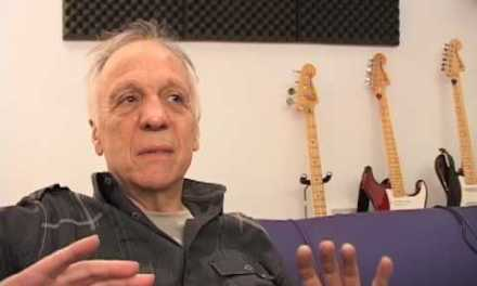 Robin Trower talks and demonstrates guitar techniques