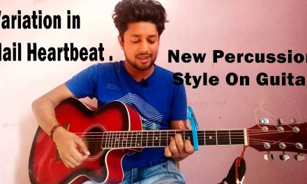 Percussion Style on Guitar | Nail Heartbeat Style | Easy Guitar Lesson | Tutorial