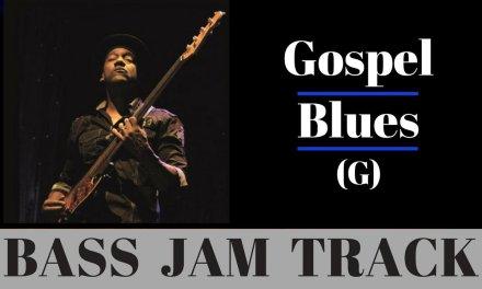 Gospel Blues Backing Track // Bass Jam (G)