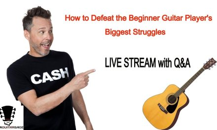 How to Defeat the Beginner Guitar Player's Biggest Struggles