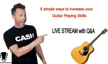 5 Simple Ways to Increase Your Guitar Playing Skills Even If Your Time is Limited + Q&A