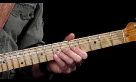 Guitar Lessons – Sweet Notes – E9 Chord Tones – Blues Progression