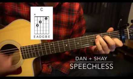 Easy Guitar Lesson (W/Chords!) // Dan + Shay // Speechless