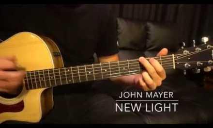 Easy Guitar Lesson // John Mayer // New Light