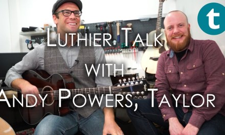 Taylor Guitars master luthier Andy Powers @ Thomann