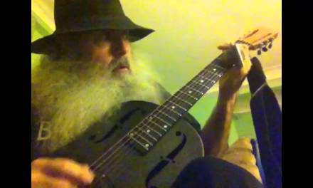 Peace Train Slide Guitar Blues. Messiahsez Makes A Song About Peace And The Subway!!!