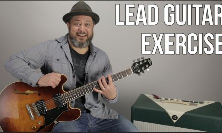 Lead Guitar Exercise