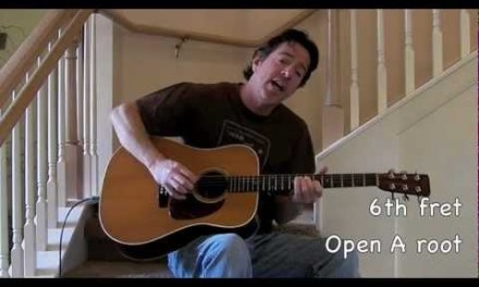 On The Steps: Going to California guitar lesson with chords