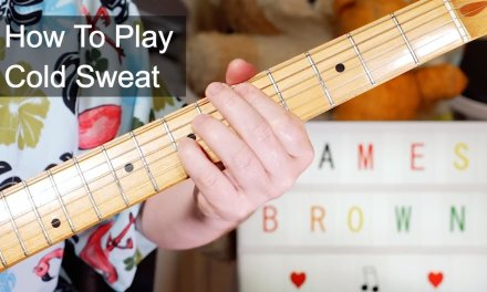 'Cold Sweat' James Brown Guitar Lesson