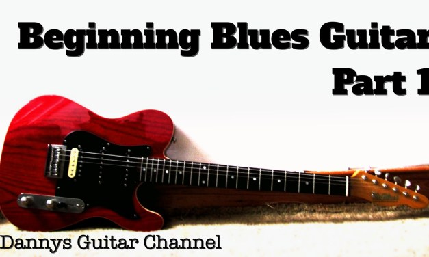 Beginning Blues Guitar – Part 1 – 12 Bar Blues Shuffle in E Lesson – Easy Blues You Can Use ;)