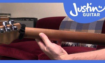 Guitar Thumb Position – Justin Guitar – Guitar Lesson [QA-001]