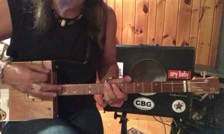 Lola lesson for 3 string Cigar Box Guitar