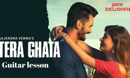 Tera Ghata || Easy guitar lesson || gajendra verma ft. karishma sharma  full song