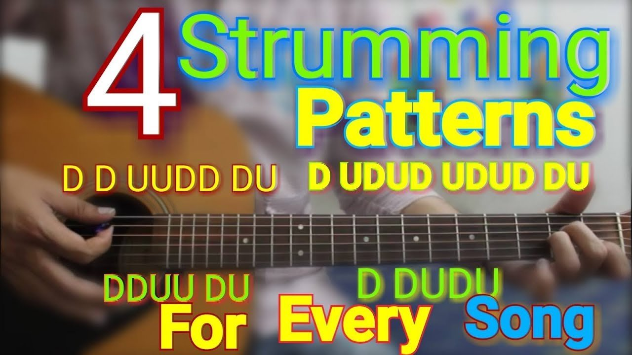 Acoustic Guitar Strumming Patterns Awesome Decorating Design
