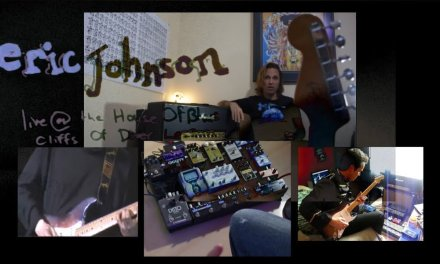 Eric Johnson House Of Blues Cliffs Of Dover Clean Intro Lesson & Tab