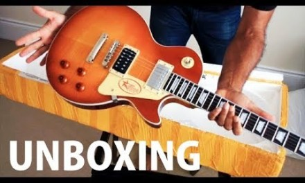 Chibson Les Paul unboxing –  Jimmy Page Les Paul Custom